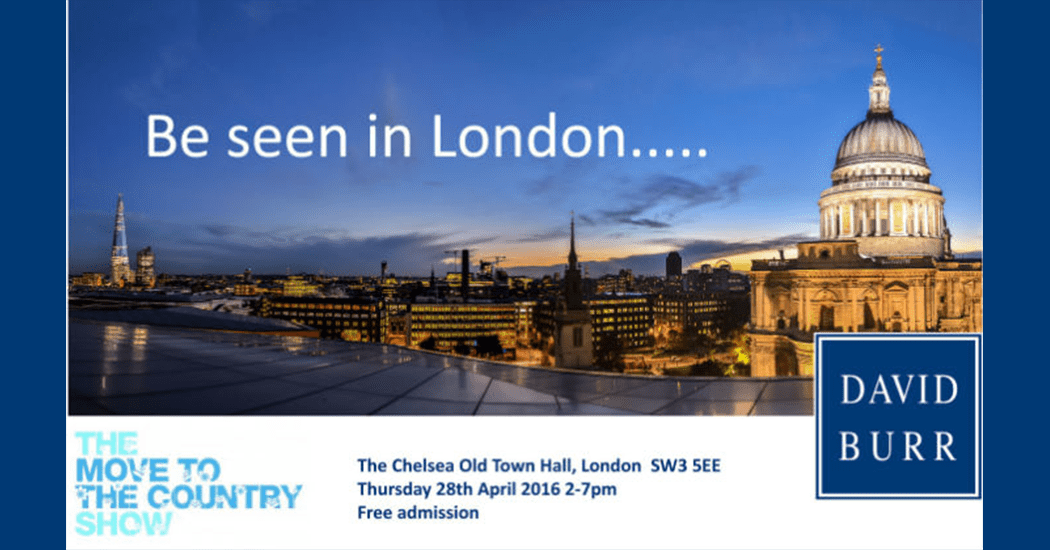 Itching to leave the big smoke and start a new life in the country?