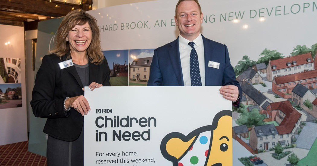 Charity Benefits from New Homes Launch