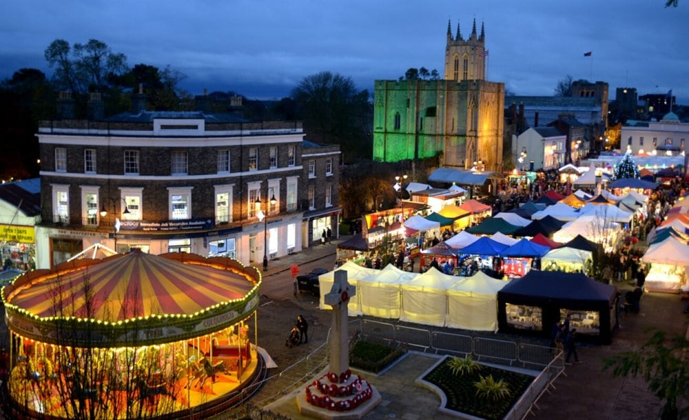 Christmas Fairs Bury St Edmunds