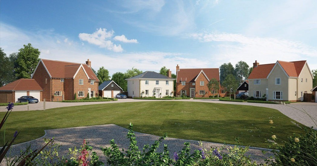 4-5 bedroom, detached new-builds near Newmarket selling fast