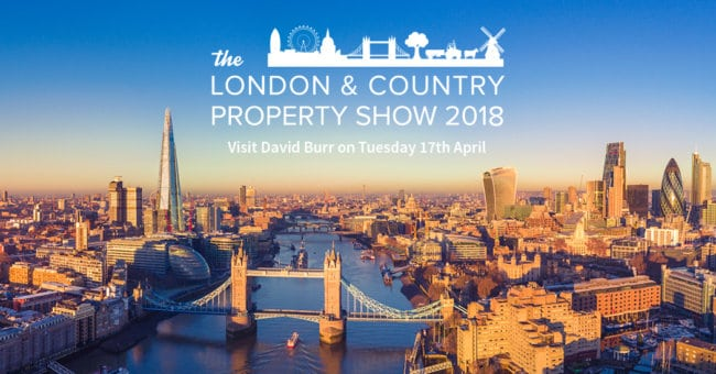 We're attending the London & Country Property Show 2018
