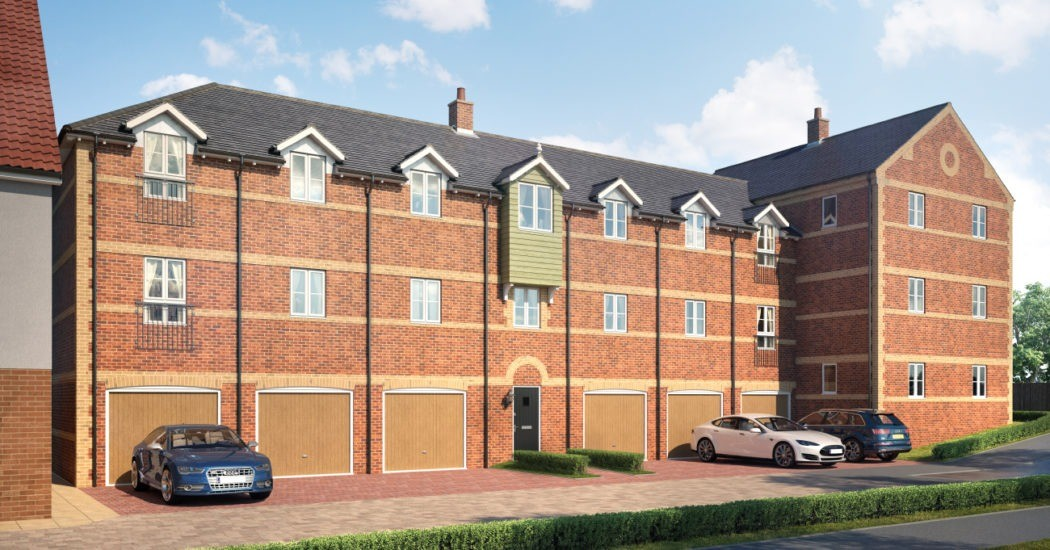 Apartments available at exciting Long Melford development