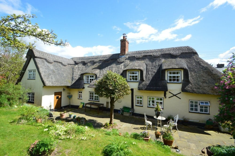 David Burr Dream Homes: Thatched Roofs