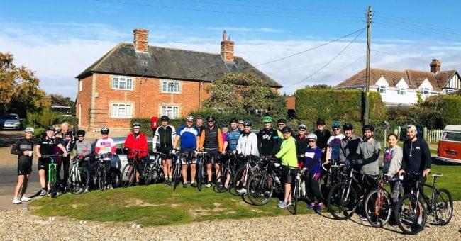 Charity bike ride a success!!