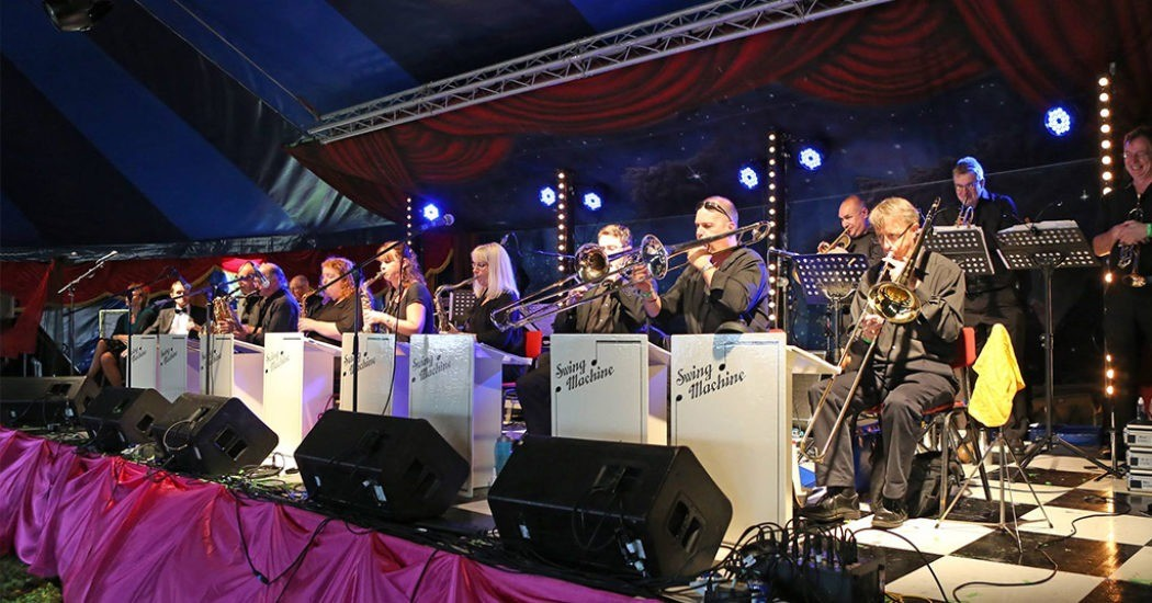 Big Band Masquerade Charity night in Sudbury