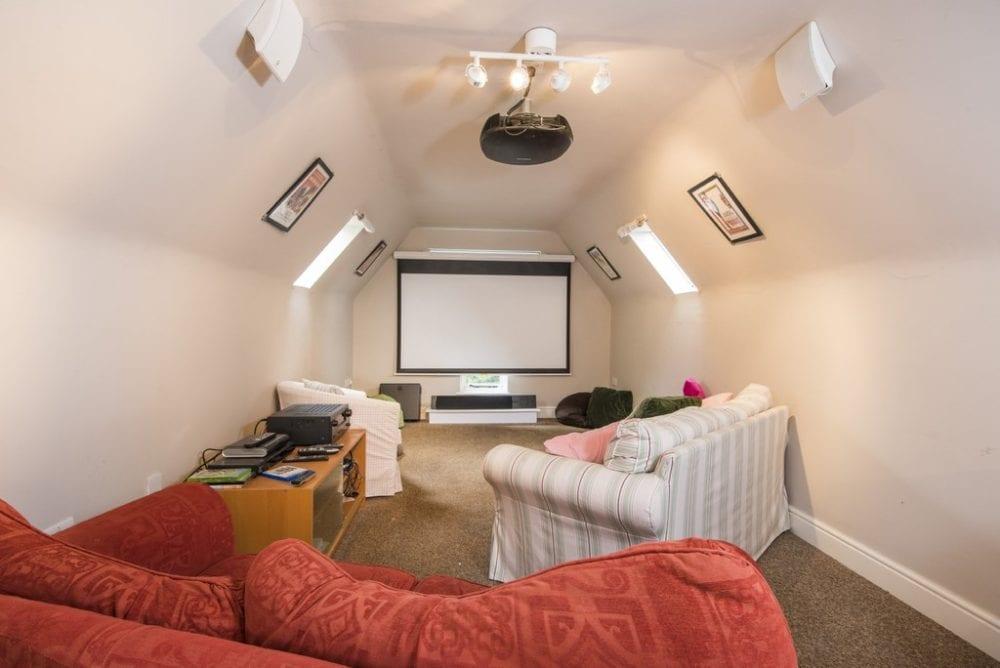 Home cinema room in Edwardstone, Sudbury