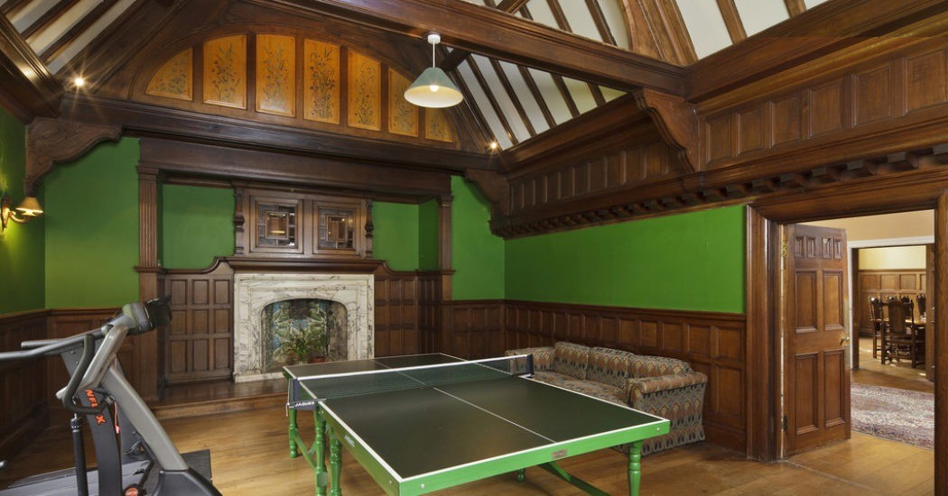 Table tennis in games room, Newmarket