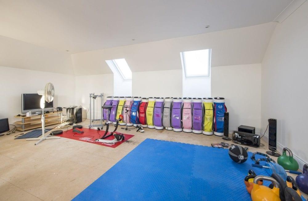 Gym Room in Sudbury, Suffolk