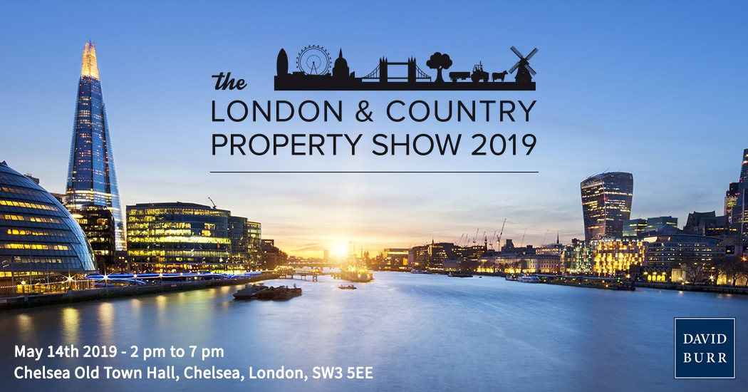 David Burr are attending the London & Country Property Show 2019