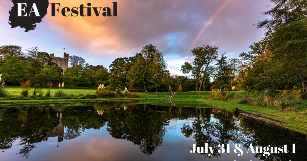 David Burr is proud to be supporting EA Festival at Hedingham Castle